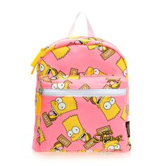 0ce35b0acded The Simpsons Bart Simpson Kids Children Girl Backpack Picnic Field Trip