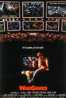 "'Juegos de Guerra' de 1983 y dirigida por John Badham. ""A strange game, the only winning move is not to play"" Love Movie, Movie Tv, Movie List, Movies Showing, Movies And Tv Shows, Cinema Posters, Movie Posters, Film Science Fiction, Bon Film"