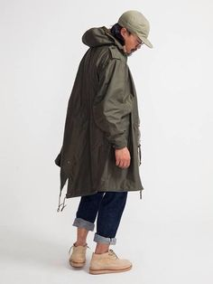 THE REAL MCCOY'S M-1951 Fishtail Parka