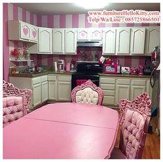 Desain Kitchen Set Hello Kitty Bentuk Ahli 1 Dapur