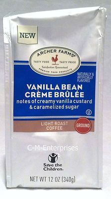 Archer Farms Vanilla Bean Creme Brulee Ground Coffee available at Target stores!  <3