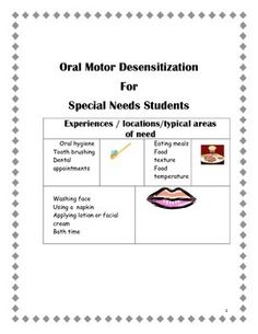 Oral Motor Activities On Pinterest Oral Motor Therapy