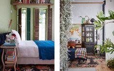 the botanical farmhouse January 2017 Photo Greg Cox Stylist Chrizanda Botha & Tiaan Nagel 2017 Photos, Greenery, Blankets, January, Bedrooms, Bloom, Farmhouse, Doors, Studio