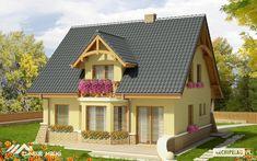 Proiecte de case cu 3 dormitoare la mansarda