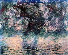 Claudio Monet Salice piangente 1897/98