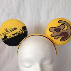 Lion King Inspired Mickey Ears