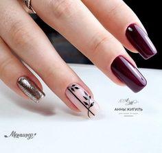 Nail Manicure, Gel Nails, Nail Polish, Beauty Nails, Hair Beauty, Gel Designs, Flower Nails, Make Up, Nail Art
