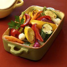 Grilled Garden Vegetables