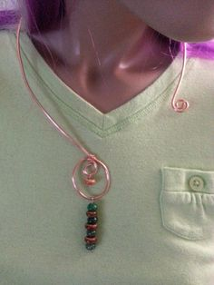 I'm selling Wire Swirl Necklace - $25.00 #onselz