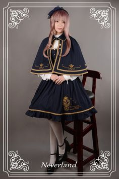 --> New Releases: Neverland Lolita ★~Eternal Sirius~★ Lolita JSK and Cape --> Learn More >>> http://www.my-lolita-dress.com/newly-added-lolita-items-this-week/neverland-lolita-eternal-sirius-lolita-jsk-and-cape
