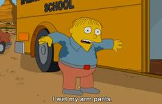 Post with 7009 votes and 279692 views. Tagged with Funny, ; A collection of some of the best Ralph Wiggum quotes Homer Simpson, Lisa Simpson, Ralph Wiggum, Funny Jokes, Hilarious, Run Happy, The Simpsons, Spirit Animal, Trending Memes