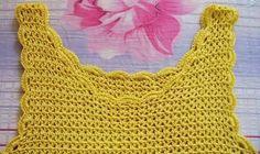 Luty Artes Crochet: Camiseta de crochê com passo a passo