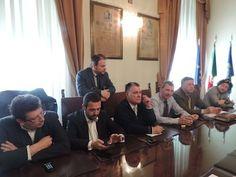 Pescara, conferenza stampa su Piano Regolatore Portuale