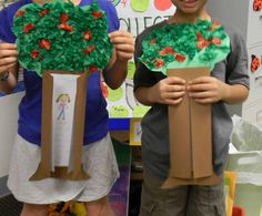 Nice seasonal craft with writing - could do trees from september to fall to winter to spring to summer!