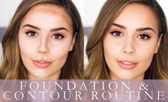 FOUNDATION AND CONTOUR ROUTINE  | Hello October