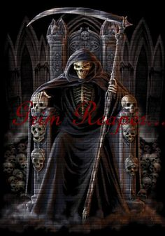 Grim Reaper....friend or foe?... lol