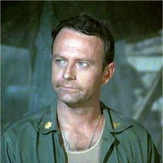 Frank Burns played by Larry Linville