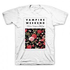 Vampire Weekend Floral