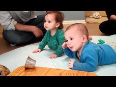 Ouch!...My Ear. RIE babies playing. - YouTube