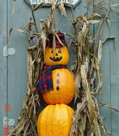 With Fall comes Halloween, and...Halloween snowmen?!