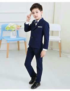 Boys Suits Tails Wine Paisley 5pc Suit wedding pageboy formal