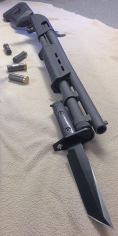 Mossberg 590 A-1Loading that magazine is a pain! Get your Magazine speedloader today! http://www.amazon.com/shops/raeind