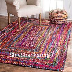 Mandala Rug, Doily Rug, Boho Dekor, Braided Rag Rugs, Meditation Mat, Decoration Inspiration, Indian Rugs, Area Rug Sizes, Area Rugs