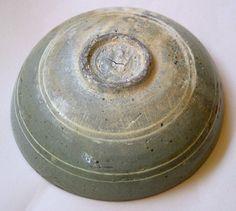 base of Korean punchong (Buncheong) bowl