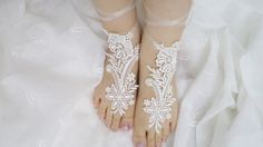 Bridal Accessories Wedding Shoes bridal sandals by BloomedFlower, $22.00