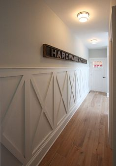 """View this Great Space by JPS Construction and Design. Discover & browse thousands of other home design ideas on Zillow Digs. Dining Room Wainscoting, Wainscoting Ideas, Rustic Wainscoting, Wall Design, House Design, Wall Trim, Wall Treatments, Home Projects, Decoration"