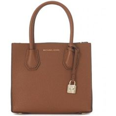 Geanta de mana Michael Kors Handbag Model Mercer Messenger In Tumbled Leather Brown de culoare maro de dama