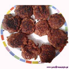 Vegetarische Burger aus Kidney Bohnen