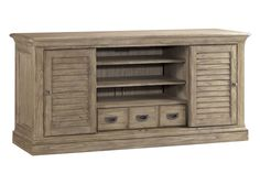 Doors are not as shown here, they are centered. Click through on picture! Travis+Media+Console 64W x 22D x 30¼H in.
