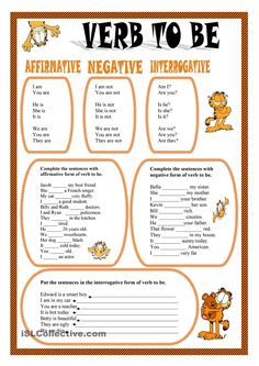 worksheet verb be - بحث Google‏