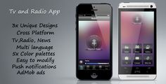 Tv Radio app http://codecanyon.net/item/tv-radio-app/5186718
