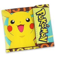 Pokemon Yellow Pikachu Short Style Wallet