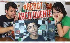 REACT  FACA QUENTE VS MEU BRAÇO DESAFIO #56 (Everson Zoio)