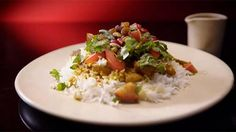 Chicken Biriyani with Pepper Water