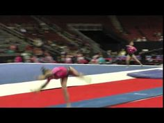 Rachel Baumann - Vault - 2016 Nastia Liukin Cup - YouTube