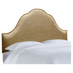 Wynona Upholstered Headboard in Gold