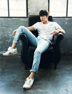 Park Hae-jin (Hangul: 박해진, born May 1, 1983) is a South Korean actor. He is best known for starring in My Love from the Star (2013), Bad Guys (2014) and Cheese in the Trap