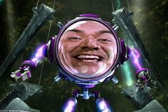George Lopez in Sharkboy and Lavagirl