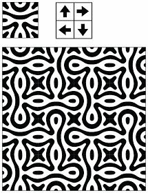 Adaptive Rugs & Tile Spin: The Curse of Truchet's Tiles – Door Ideas Painting Patterns, Tile Patterns, Cool Patterns, Textures Patterns, Print Patterns, Of Wallpaper, Pattern Wallpaper, Origami Paper Art, Bohemian Pattern