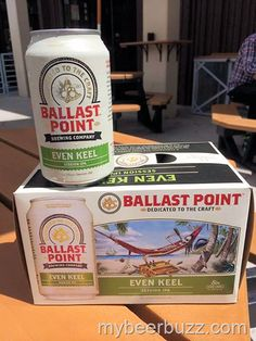 mybeerbuzz.com - Bringing Good Beers & Good People Together...: Ballast Point Releases Even Keel Session IPA Cans