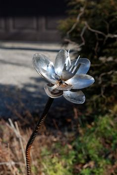 Silverware Flower