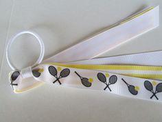 Tennis Black White and  Yellow  Ponyo Cheer/Dance by preciouscurls,.