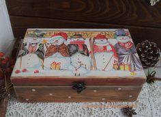 Christmas Decoupage Box Christmas Gift Box от ZhannaTretyak
