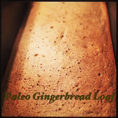 The Paleo Cooking Lifestyle: Paleo Gingerbread Loaf ::so excited::love gingerbread::