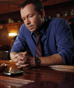 Donnie Wahlberg at the bar