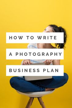 Learning how to write a photography business plan is the first step in building a successful photography business. I'll walk you through it step by step. Team Photography, Photography Business Cards, Corporate Photography, Photography Basics, Photography Lessons, Advertising Photography, Commercial Photography, Photography Tutorials, Photography Ideas